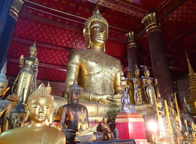大きな黄金仏の意味を持つラオスの仏教都市「ルアン・パバン」
