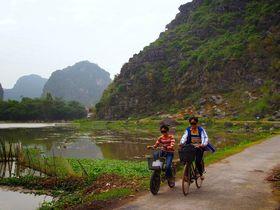 ベトナム世界遺産「古都ホアルー」と田舎道をのんびり散歩