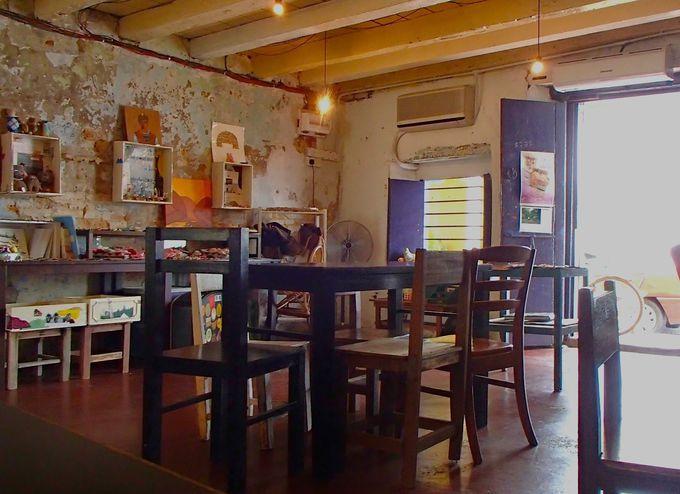 かわいいカフェで一休み「Chai Diam Ma+ Café」