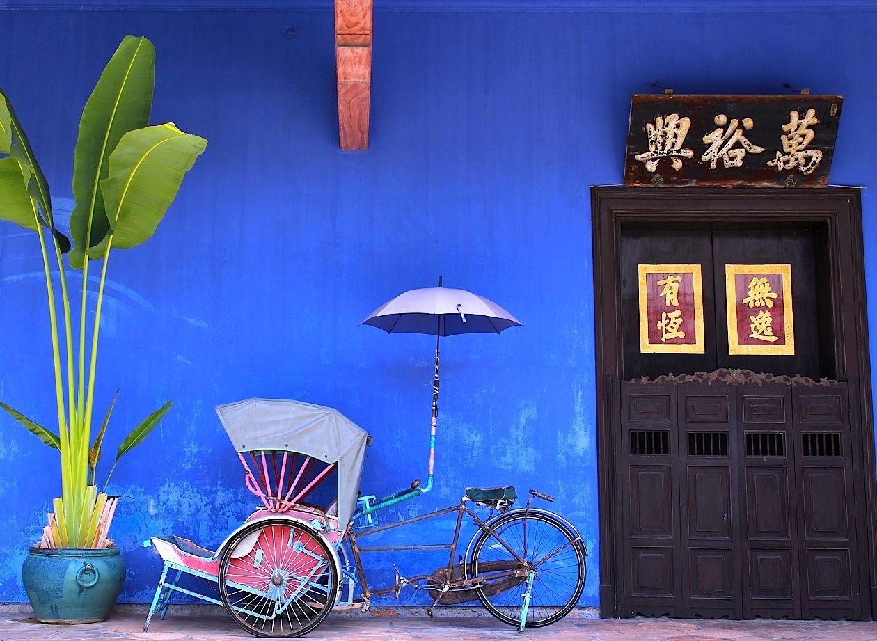 世界遺産とアートがコラボ!マレーシア・ペナン島「ジョージタウン」はカラフルストリート