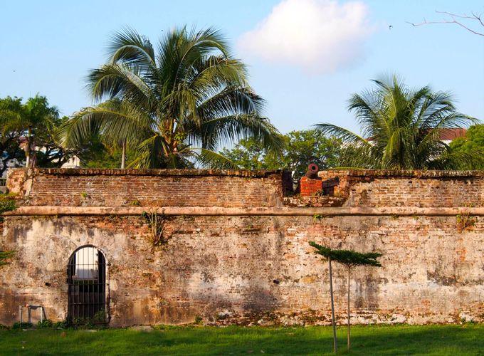 ジョージタウンを守り続ける「コーンウォリス要塞」