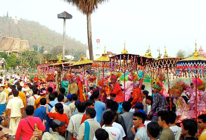 タイ北部の山間の街「メーホンソーン」を目指して