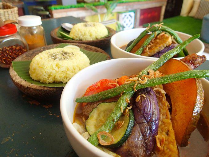 日本とインドネシアが融合した絶品スープカレー