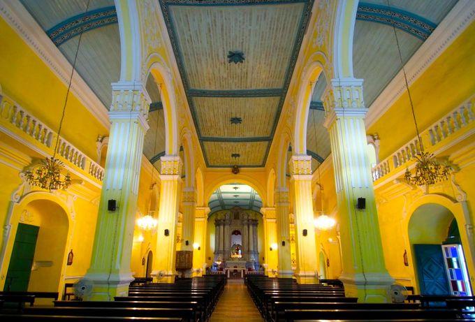 龍のひげとも呼ばれた「聖オーガスティン教会」