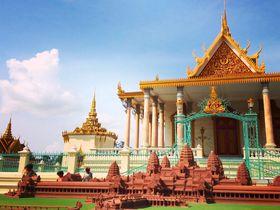 プノンペン王宮とシルバー・パコダ!2086個のダイヤ煌めくカンボジアの秘宝!