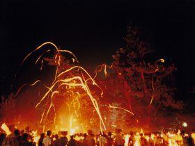 これぞ奇祭!松明が夏の夜空を舞う日野町(滋賀)の火ふり祭