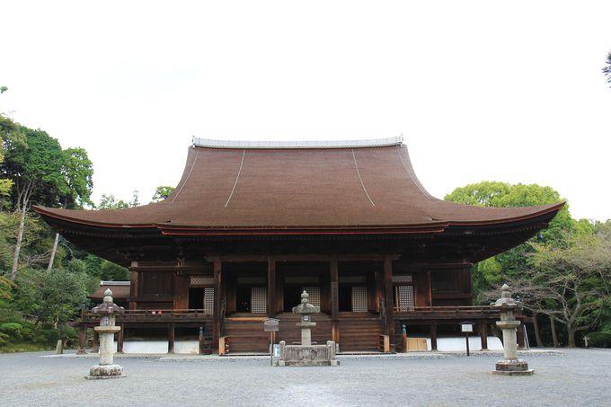 豊臣秀吉の正室北政所によって再建された国宝の「金堂」