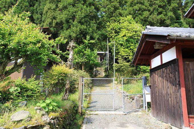 安念寺は集落で管理されている無住の寺院