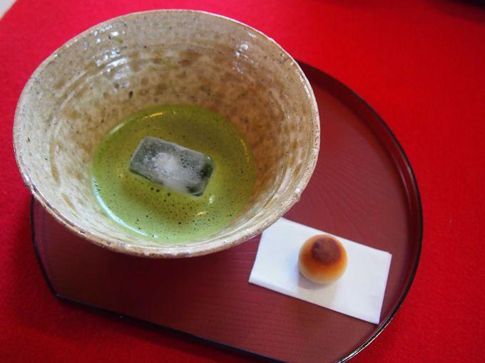 おすそわけ茶屋で、ちょっとお茶でも飲みませんか?