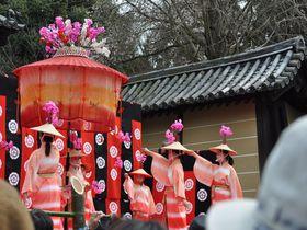 京都山科・随心院で行われる「はねず踊り」は可憐な美しさ!