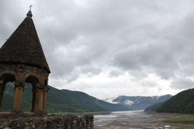 グルジアの知られざる絶景教会までの道のり