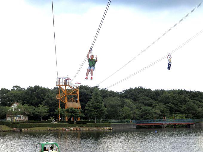 世界初!湖上滑空で鳥になる!那須りんどう湖LAKEVIEWで自然と遊ぶ