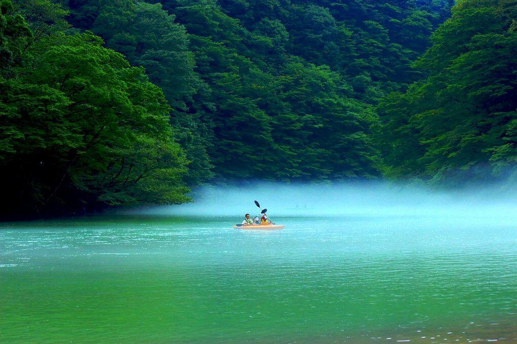 ダム湖の大自然を、とことん楽しんじゃおう!