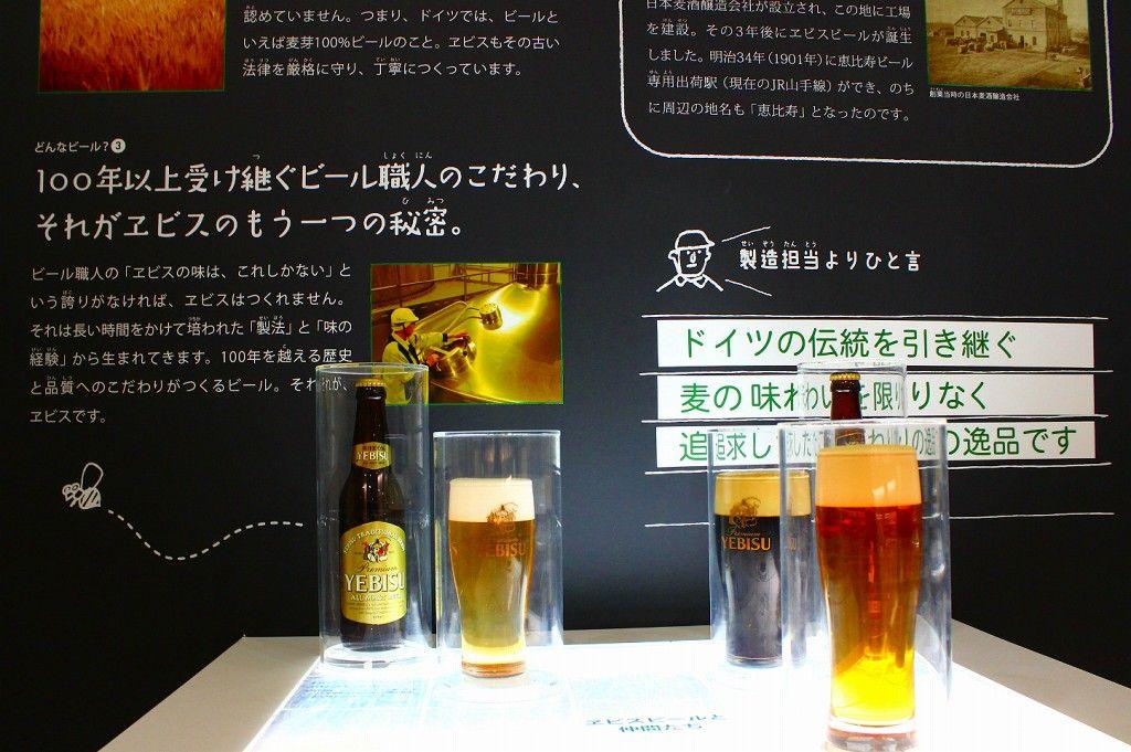 8メートルのジオラマでビール醸造工程を再現!