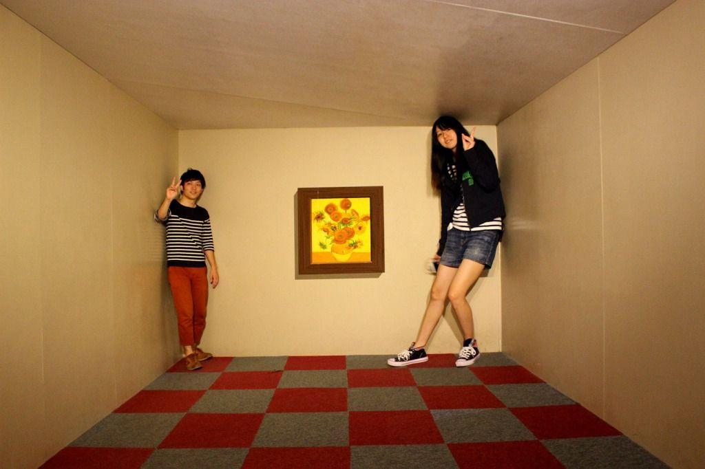 『トリックアート迷宮?館』で不思議な世界へ探検の旅を!