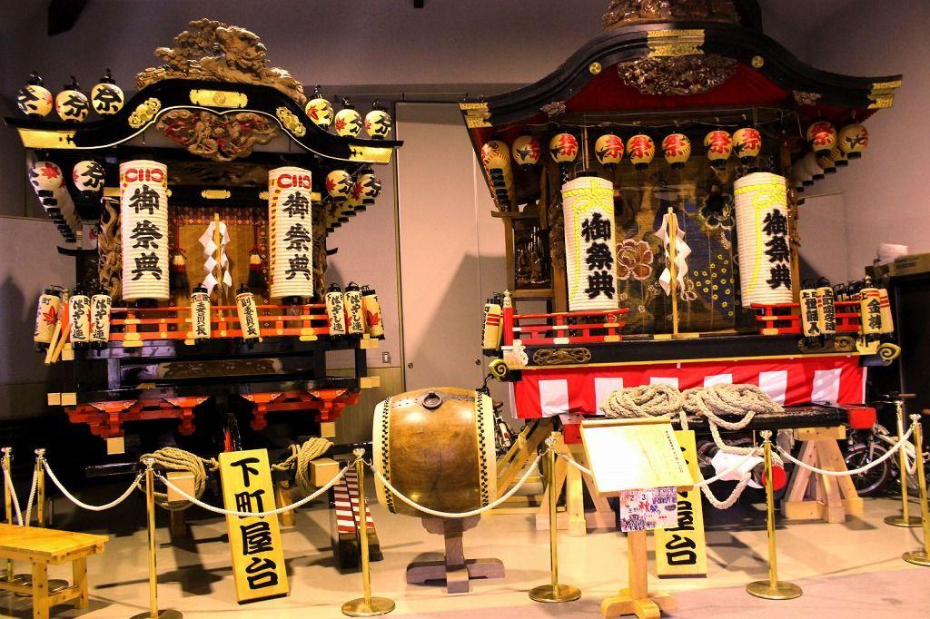 「お祭り伝承館」や東山道(義経街道)周辺で悠久の歴史を散策!