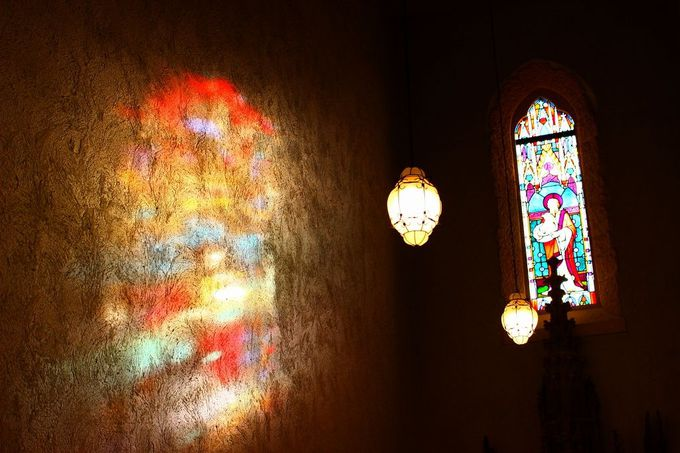 五感で楽しむ(光・香・美・音・風)那須ステンドグラス美術館