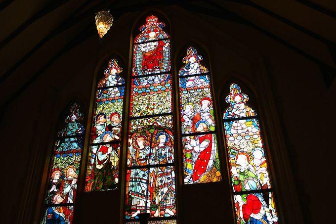 荘厳な美しさと雰囲気に感動「那須ステンドグラス美術館」