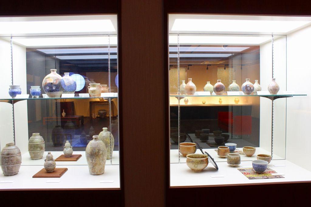 2014年秋にオープンした「人間国宝 島岡達三美術館」