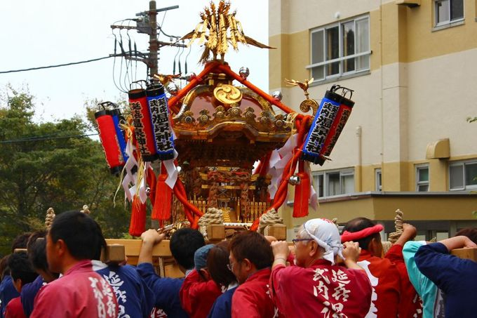 悠久の歴史がある那須温泉神社例大祭に併せて「阿波踊り」を奉納!