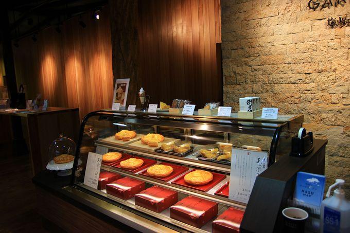 選ぶのに迷ってしまうほど、那須塩原観光土産にはぴったりの豊富な商品!