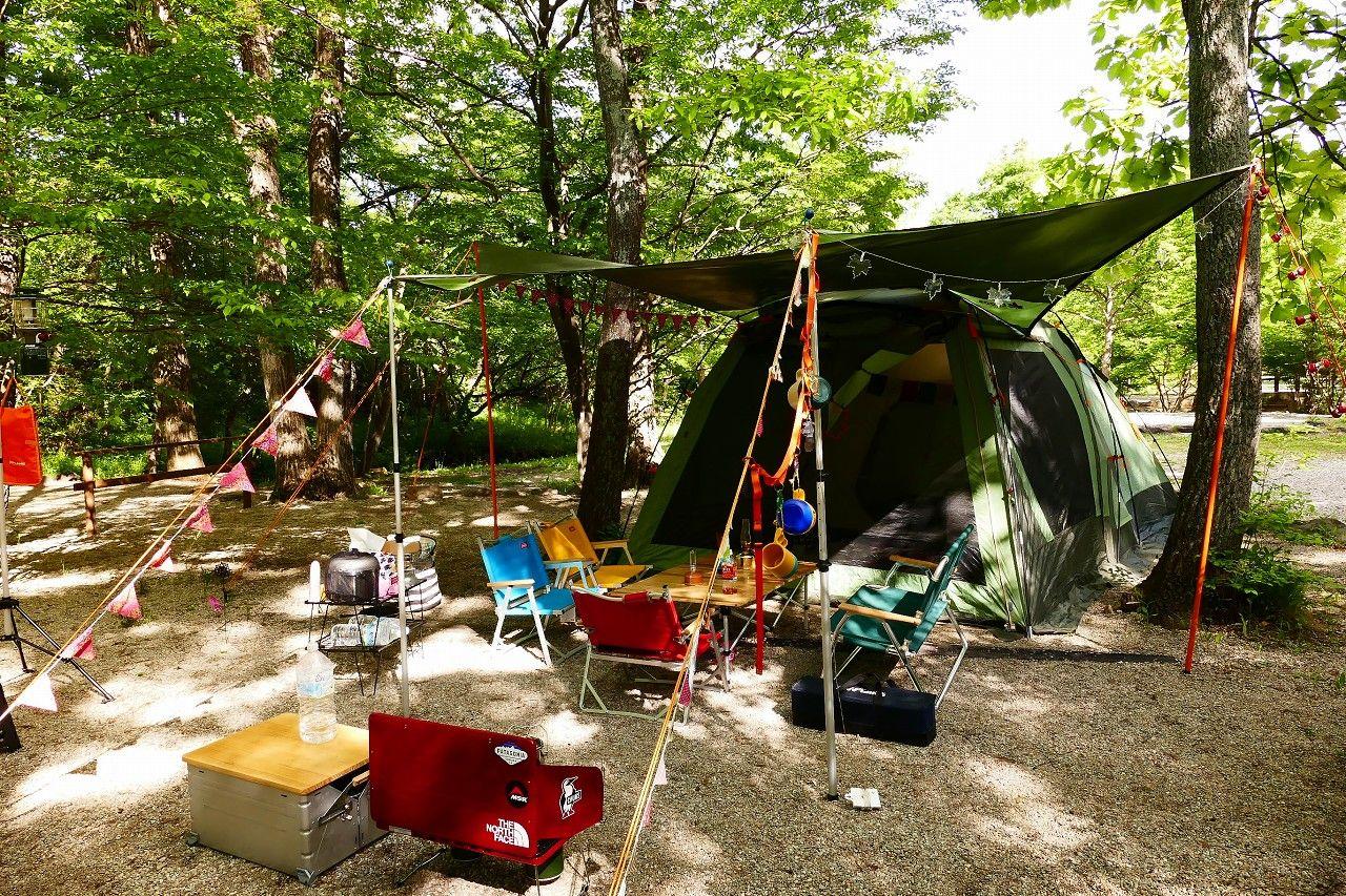 ビギナーも本格派にもピッタリの自然環境が嬉しいキャンプ場