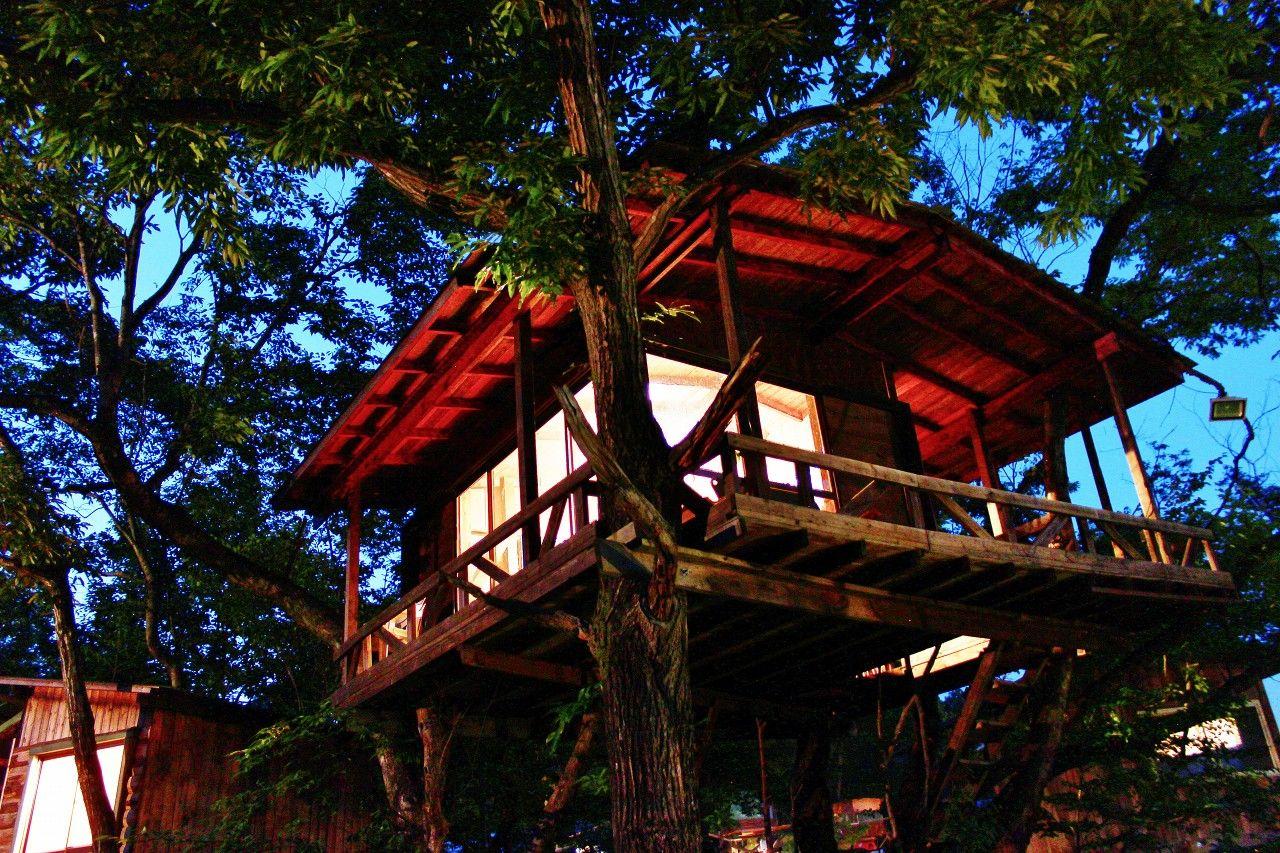 乃木坂46MVの舞台「おだぎりガーデン那須」は野趣あふれるツリーハウスが魅力