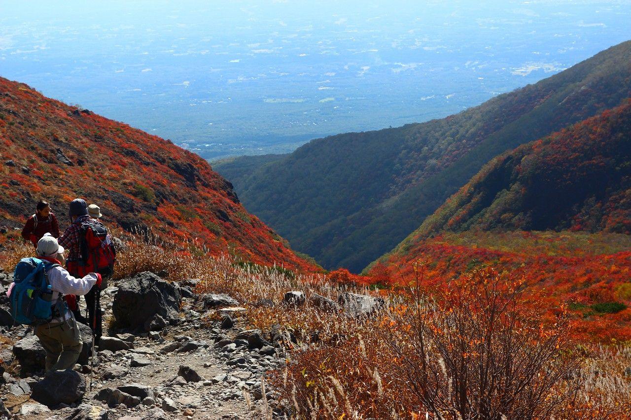 山頂駅から茶臼岳をスルーして日の出平方面へ!
