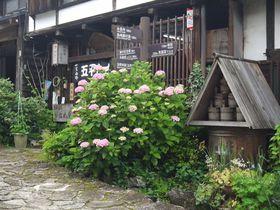 江戸時代から変わらぬ佇まい!木曽馬篭宿はあじさいの季節こそ美しい!|岐阜県|トラベルjp<たびねす>