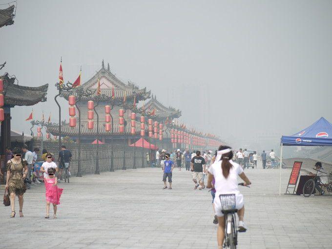 中国西安城壁は見どころ満載!貸し自転車で一周14Kmを巡ってみよう!