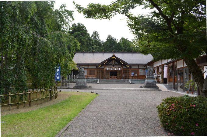 パワースポットの「足羽神社」