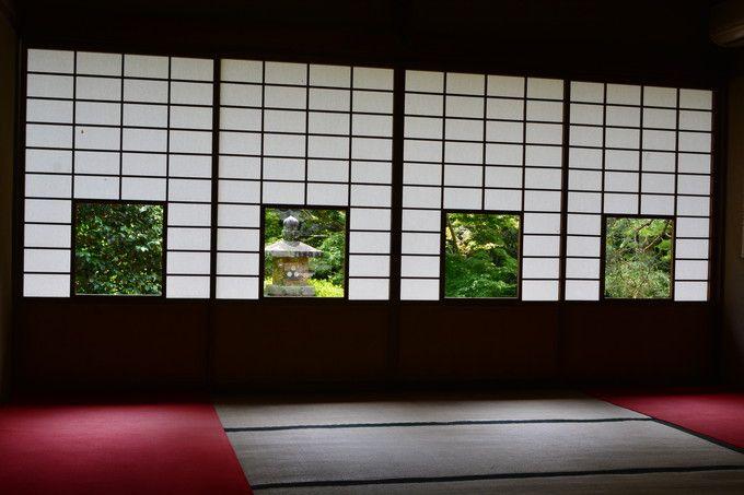 障子が切り取る額縁絵に感動!京都・東山「雲龍院」