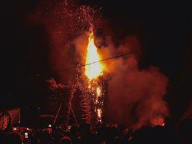 京都三大火祭「京都嵯峨清凉寺お松明式」の燃え盛る炎は、迫力満点!|京都府|トラベルjp<たびねす>
