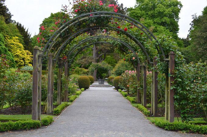 四季の花が美しい植物園
