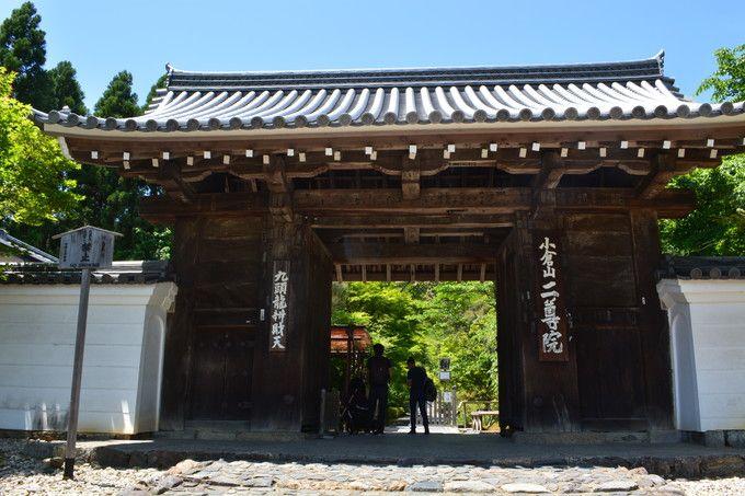 嵯峨嵐山駅から徒歩15分:二尊院