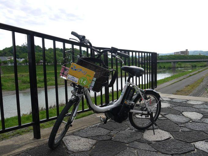 「ふくチャリ」で巡ろう!!福井市足羽山公園のパワースポット、観光スポット