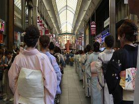 山鉾だけじゃない!「祇園祭」の楽しみ方~花笠巡行は寺町商店街で~|京都府|トラベルjp<たびねす>