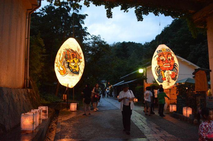 愛宕古道街道灯し(8月23日、24日、25日)