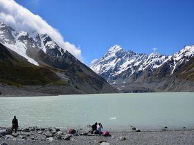 感動必至!NZ南島マウントクック「フッカーバレー」の絶景ハイキング