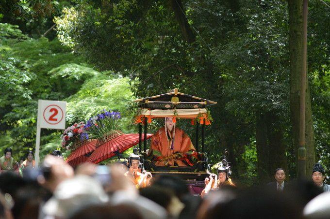 下鴨神社の斎王代列