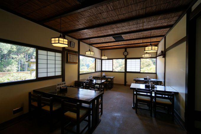 疲れたら、峯の茶屋で一休み。