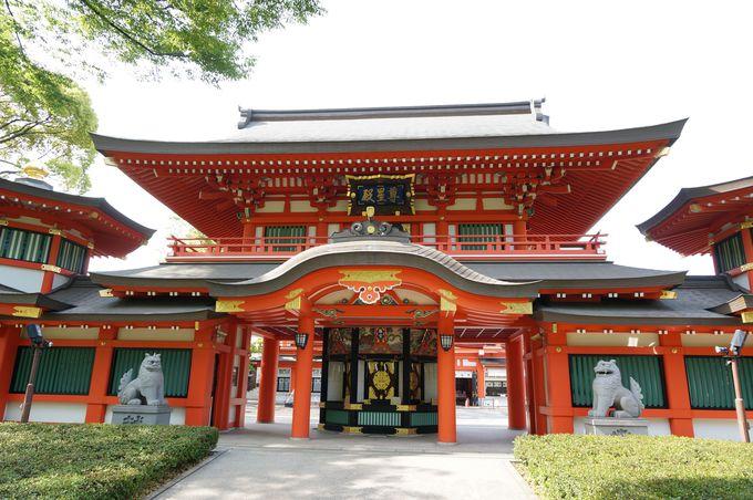 源頼朝も崇拝した千葉神社!