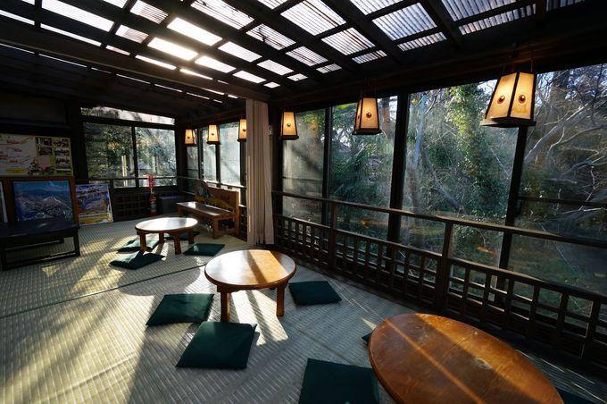 鬼太郎茶屋で一休み。