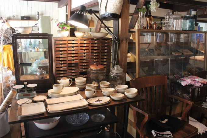 古民家を利用した雑貨カフェ「暖木(のんき)」で癒しのひとときを