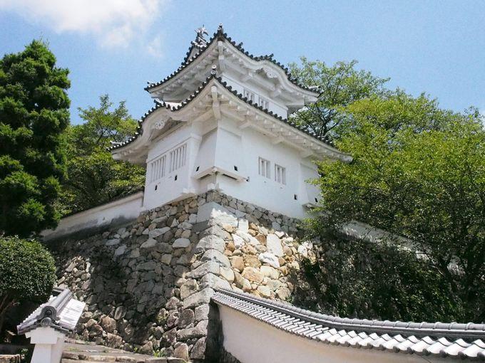 約500年前に赤松村秀によって築かれたお城