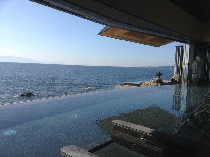空と海が一体となる瞬間を体感できる露天風呂が最高!!