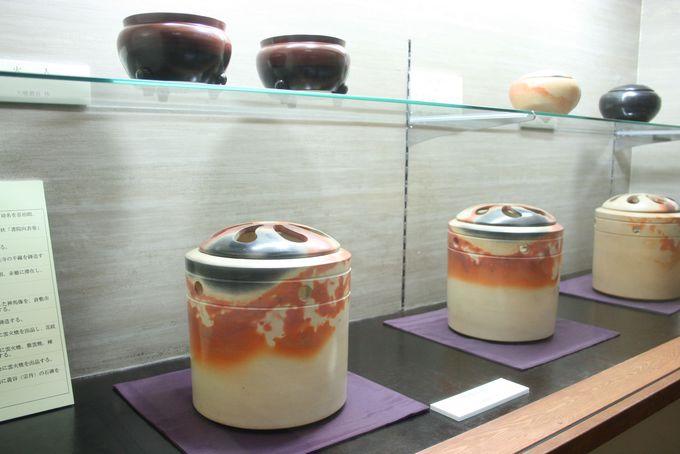 赤穂の文化遺産「雲火焼」を展示販売するミュージアム