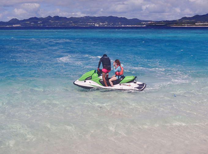 「水納島」の極上の海でマリンスポーツを楽しもう!