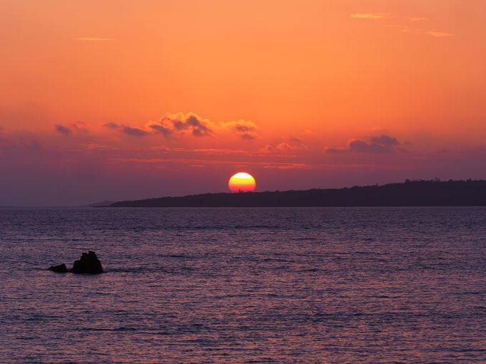 夕日を眺めよう!