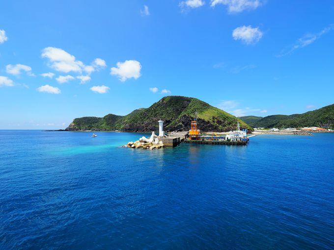 フェリーに乗っていざ、渡嘉敷島へ!